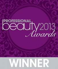Professional Beauty Awards 2013 Winner
